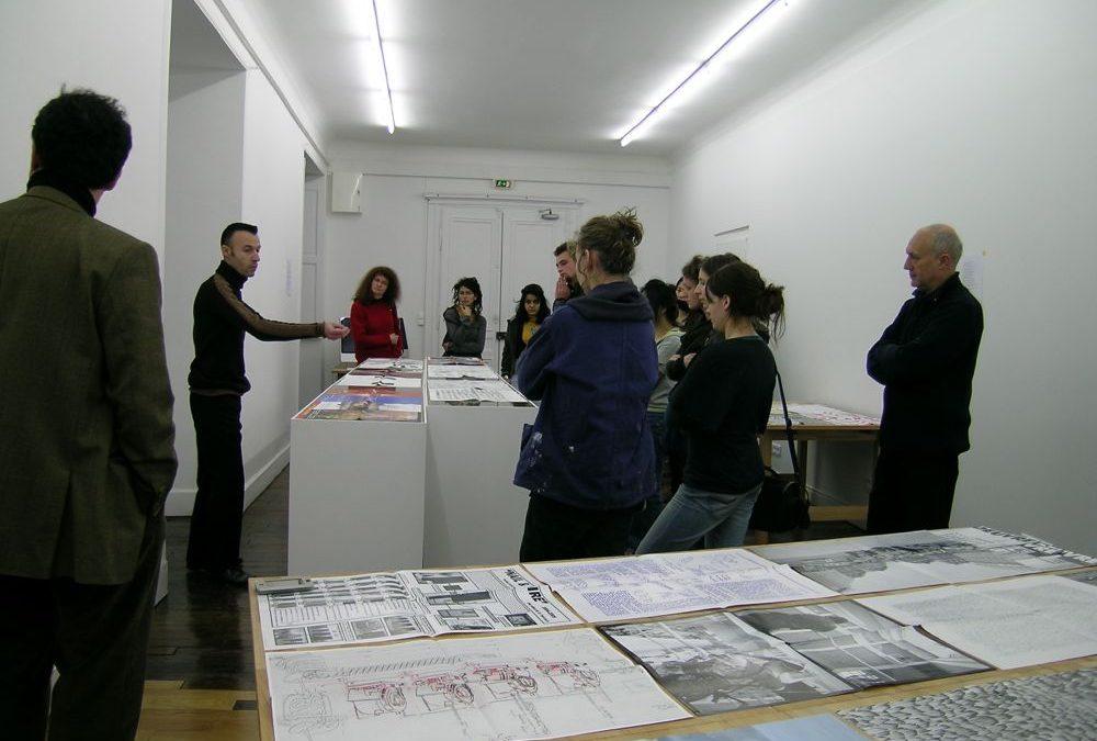 Présentation des éditions HORSD'OEUVRE au Pôle éditions de l'ENSA Dijon